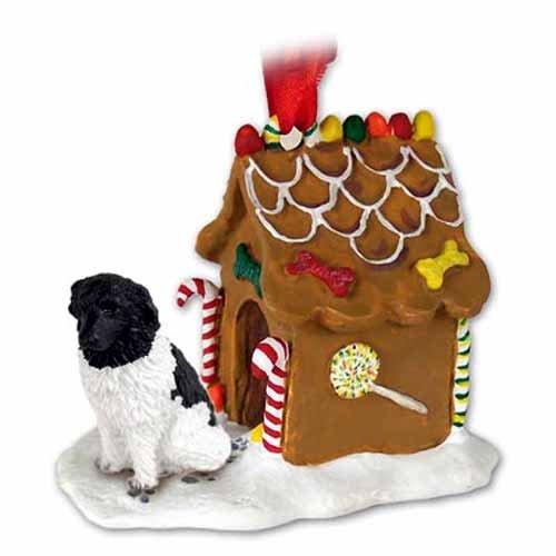 Conversation Concepts Landseer Gingerbread House Ornament