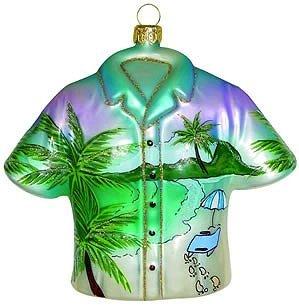 Ornaments to Remember – Collectors Shirt – Beach Walk – Blown Glass Ornament