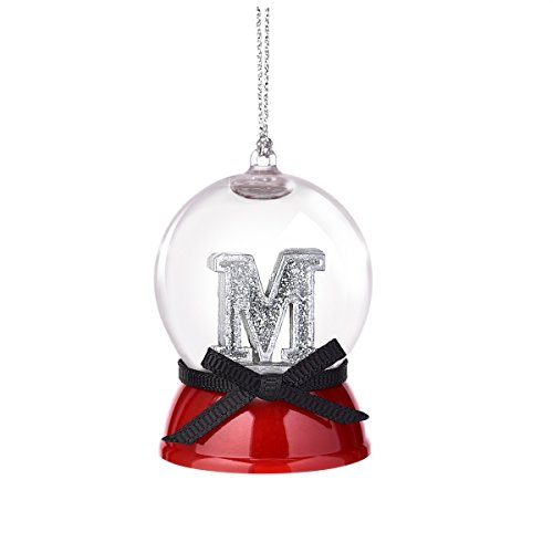 Grasslands Road Mini Snow Globe M December to Remember Ornament
