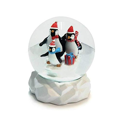 Penguin Gifts for Girls Toys Penguin Snowglobe Christmas Snow Globes for Kids Penguin Snow Globe 4.5″ Tall x 4″ Wide