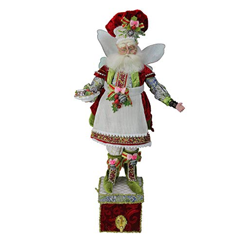 Mark Roberts All The Trimmings Fairy Christmas Stocking Holder – 21″ #51-85472