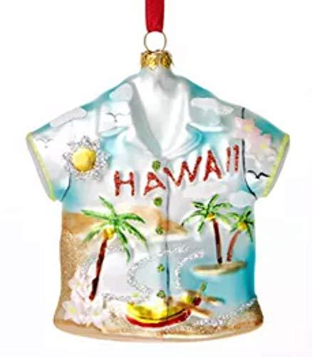 Holiday Lane Hawaii Hawaiian Shirt Ornament