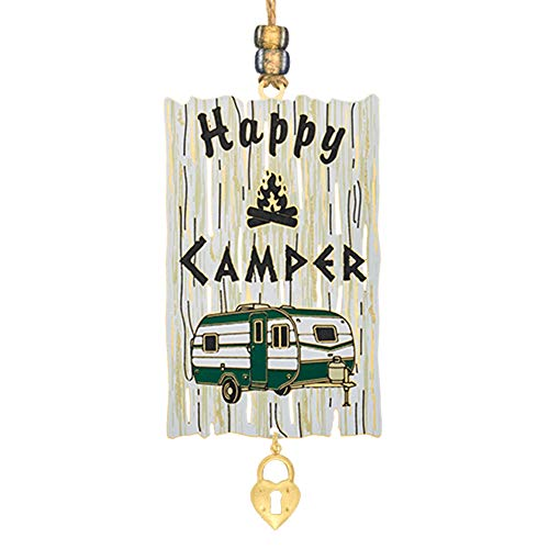 Beacon Design Happy Camper Handcrafted Ornament
