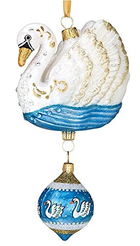 Reed & Barton 12 Days of Christmas – 7 Swans a Swimming Ornament