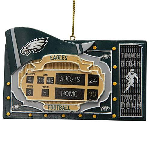 Spectrum Deluxe NFL Fan Scoreboard Ornament (Philadelphia Eagles)