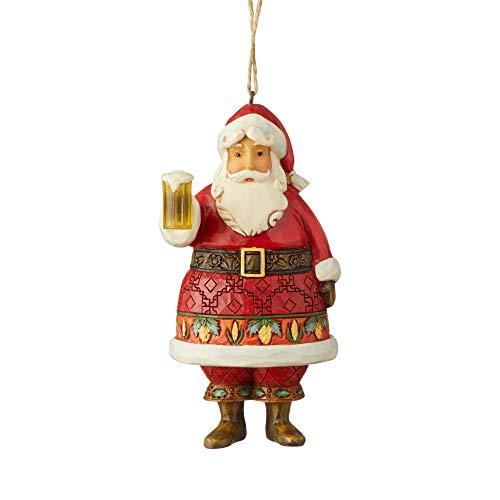 Enesco Jim Shore Heartwood Creek Craft Beer Santa HO