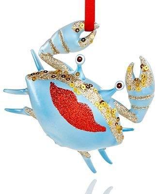 Holiday Lane Crab Ornament