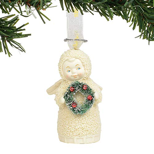 Department 56 Snowbabies Joyful Angel Hanging Ornament, 3.375 Inch, Multicolor