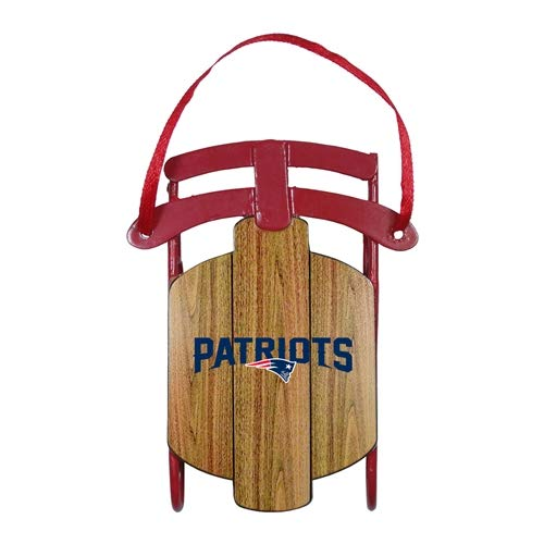 Topperscot New England Patriots Metal Sled Ornament