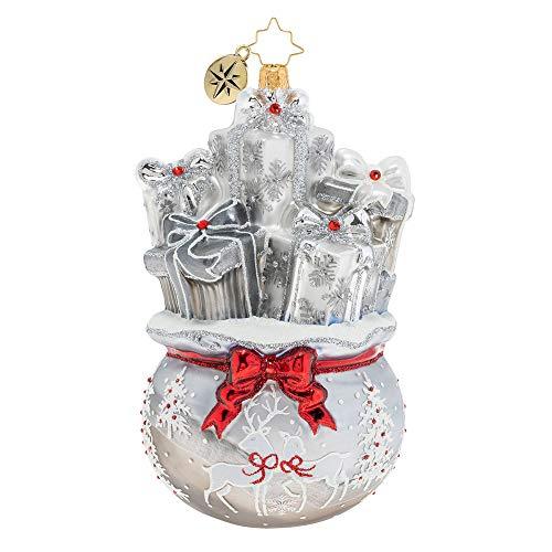 Christopher Radko Lustrous Bag of Goodies Christmas Ornament