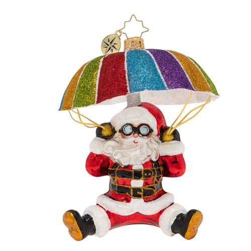 Christopher Radko Look Out Below Christmas Ornament, Multicolor