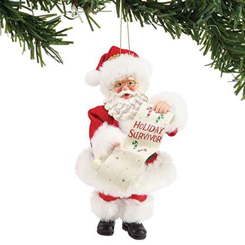 Department 56 Possible Dreams Holiday Survivor Hanging Ornament, 6″, Multicolor