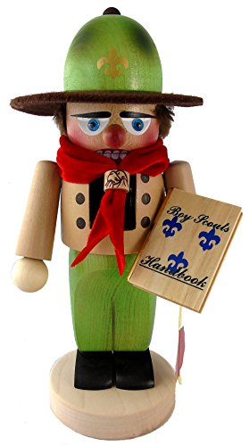 Steinbach German Christmas Nutcracker Chubby Boy Scout