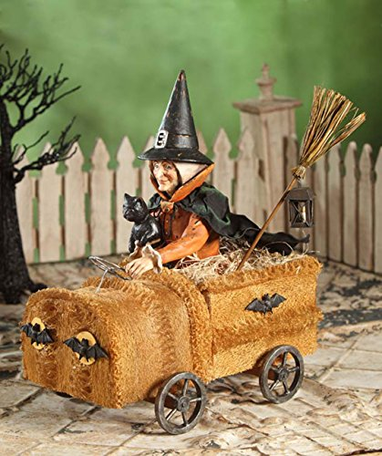 Bethany Lowe TD4032 Halloween Witch in a Sponge Car New 2015
