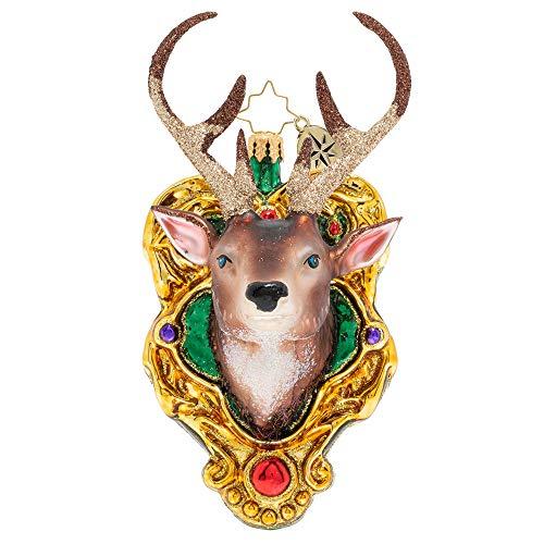 Christopher Radko A Buck Christmas Ornament, Multicolor