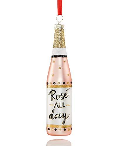 Holiday Lane Champagne Bottle Ornament