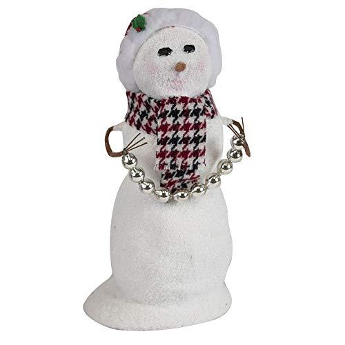 Byers' Choice Snowman with Santa Hat #SN3171