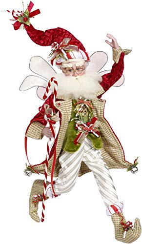 "Mark Roberts Collectible Candy Cane Christmas Fairy – Medium 16.5 "" #51-97152"