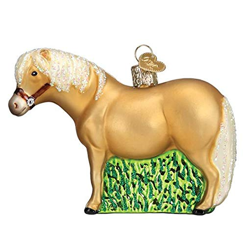 Old World Christmas Shetland Pony Tree Ornament