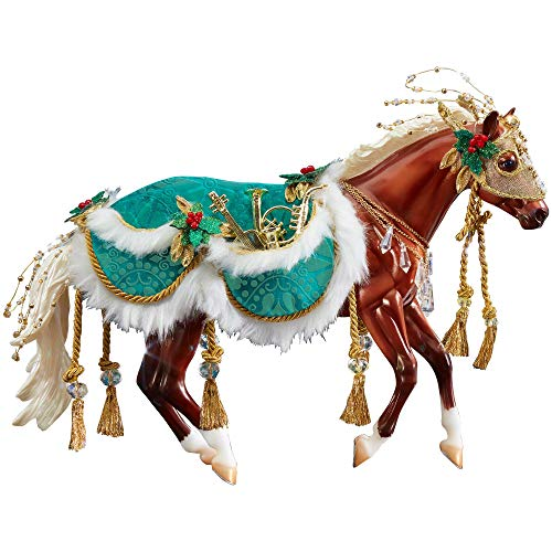 Breyer 2019 Holiday Traditional Series Horse – Minstrel | 2019 Holiday Collection | Limited Edition | Model #700122 (Renewed)