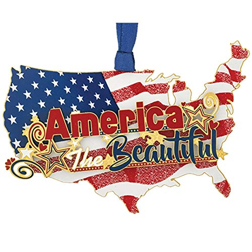 Beacon Design America The Beautiful Patriotic Ornament