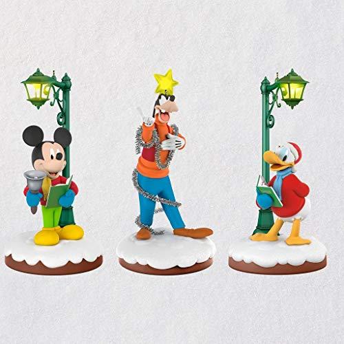Hallmark Disney Christmas Carolers Limited Edition Storytellers Ornaments (Set of 3)