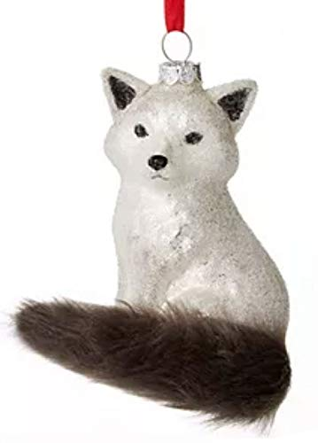 Holiday Lane Silver Fox Ornament