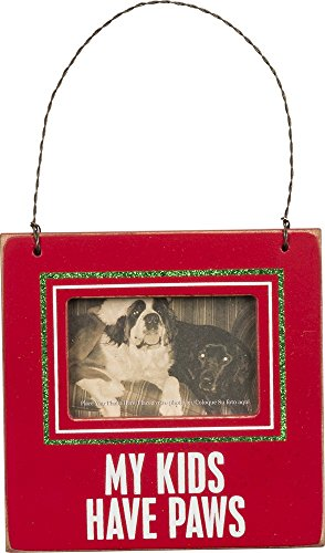 Primitives by Kathy PBK Christmas Decor – My Kids Have Paws Ornament