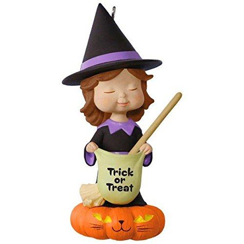 Hallmark Keepsake Halloween Ornament Sweet Trick or Treater 2017
