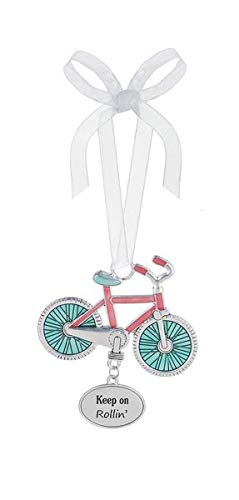Ganz Ornament Bicycle Keep on Rollin Indoor/Outdoor -Decorative Ornaments