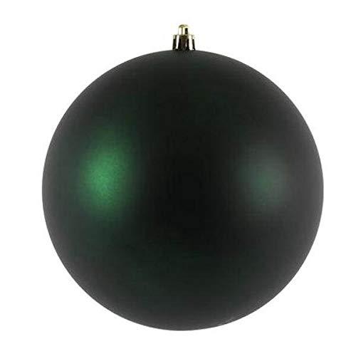Vickerman 481080-2.4″ Midnight Green Matte Ball Christmas Tree Ornament (24 pack) (N590674DMV)