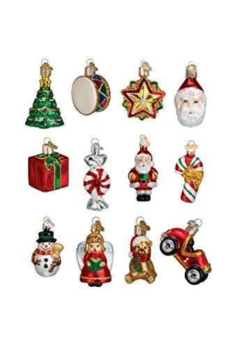 Old World Christmas Mini Ornamen Sets Glass Blown Ornaments Tree Christmas