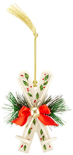 Lenox 869892 Holiday Skis Ornament