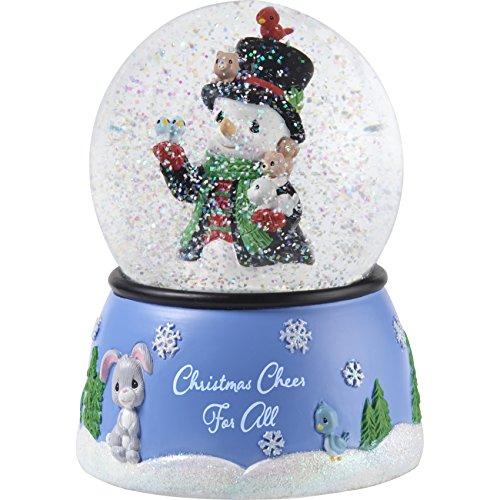 "Precious Moments"" Christmas Cheer Snowman Snow Globe, Multicolor"