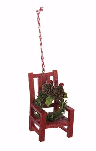 Ganz Christmas in Heaven Chair Ornament with Hangtag