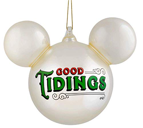 Parks Disney Mickey Mouse Icon Ball Ornament – Pearl