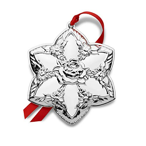 Kirk Stieff 2019 Repousse Star Ornament-11th Edition Holiday Ornament, Metal