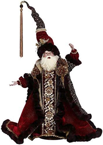 Mark Roberts Collectible Razzle Dazzle Santa Christmas Statue – 25″ #51-97054