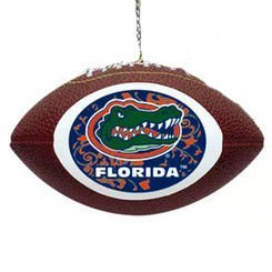 Florida Gators Replica Football Ornament