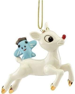 Lenox 2017 Rudolph & Misfit Airplane Ornament