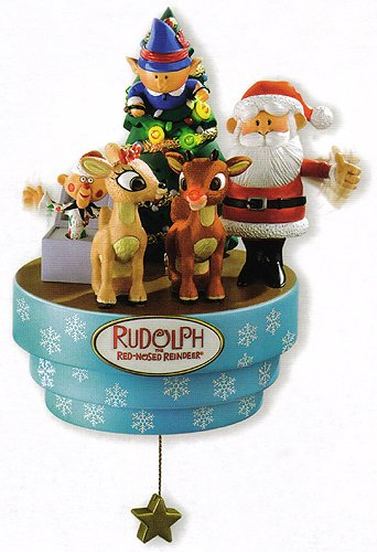 Carlton Heirloom Rudolph The Red-Nosed Reindeer Christmas Ornament #CXOR-098R