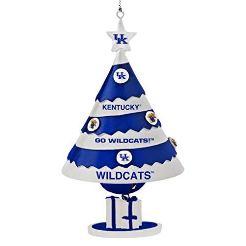 NCAA Kentucky Wildcats Tree Bell Ornament