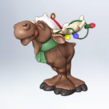 Hallmark 2012 Merry Chris-Moose Ornament