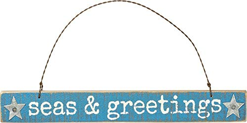 Primitives by Kathy Seas and Greetings Hanging Ornament