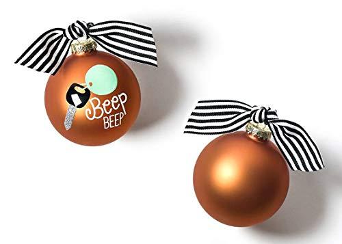 Coton Colors 100 MM Beep Car Glass Ornament