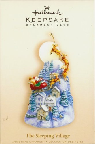 Hallmark Keepsake Ornament Club Exclusive The Sleeping Village 2006