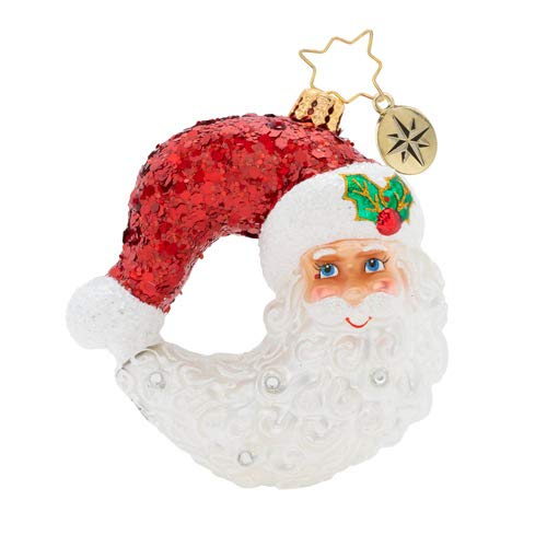 Christopher Radko Bella Luna! Gem Christmas Ornament