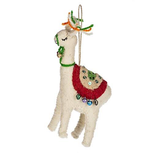 Ganz CBK Home Accents Llama Ornament
