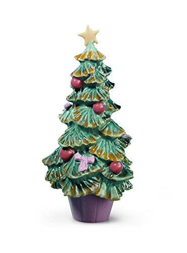 Lladro Porcelain Figurine Christmas Tree