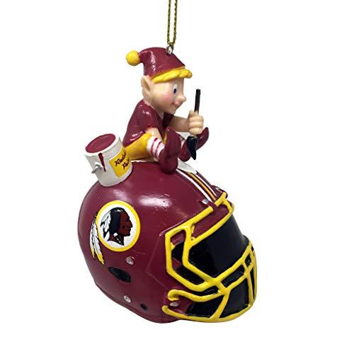Spectrum Deluxe NFL/NCAA Team Elf Ornament (Washington Redskins)